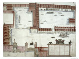 Plan of the Arsenale, Venice Giclee Print by Antonio Natale
