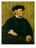 Portrait of Richard Wagner Giclee Print by Giuseppe Tivoli