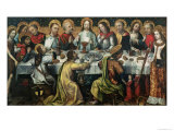 The Last Supper, 1482 Giclee Print by Godefroy