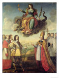 Entry of Louis XIII Giclee Print by Pierre Courtillon