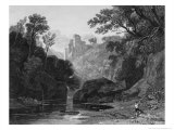 View of Roslin Castle Giclee Print by Rev. John Of Duddingston Thomson