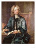 Portrait of Jonathan Swift Giclee Print by Charles Jervas