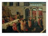 The Banquet of Ahasuerus Giclee Print by Jacopo Del Sellaio