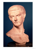 Bust of Emperor Caligula Giclee Print by  Roman