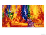 Dance 1, 2000 Giclee Print by Bayo Iribhogbe