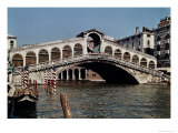 Rialto Bridge, Begun 1588 Giclee Print by Antonio Da Ponte
