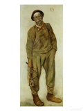 Miner Giclee Print by Constantin Meunier