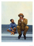 Music Lesson No.2, 2000 Giclee Print by Colin Bootman
