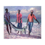 The Big Catch, 1989 Giclee Print by Carlton Murrell