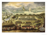 The Siege of Paris Giclee Print by Rodrigo Of Holland