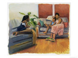Living Room Lounge, 2000 Giclee Print by Colin Bootman