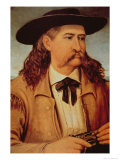 James Butler Wild Bill Hickok Giclee Print by Henry H. Cross