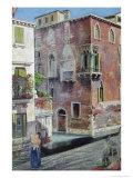 Scene in Venice Giclee Print by Sir Caspar Purdon Clarke