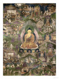 Thangka of the Buddha Giclee Print