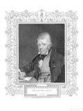 Portrait of Walter Scott Giclee Print by Henry Thomas Ryall