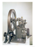 Internal Combustion Engine, 1876 Reproduction proc&#233;d&#233; gicl&#233;e par Nikolaus Otto