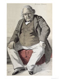 Portrait of Ernest Renan Giclee Print by De La Barre
