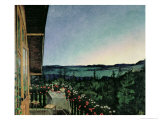 Summer Night, 1899 Giclee Print by Harald Oscar Sohlberg