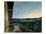 Summer Night, 1899 Giclee Print by Harald Oscar Sohlberg