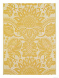 Temple Newsam' Reproduction by Cole and Sons, 18th Century Flock Wallpaper, Lydiard Park, c.1743 Giclee Print