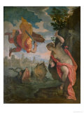 Perseus Rescuing Andromeda Giclee Print by Paolo Veronese