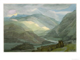 Rydal Water, 1786 Giclee Print by Francis Towne