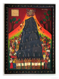 Babel Tower, 2002 Giclee Print by Laura James