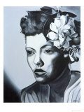 Billie Holiday Giclee Print by Kaaria Mucherera