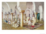 At Prayer in the Mosque, 1884 Giclee Print by Filipo Or Frederico Bartolini