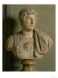 Bust of Emperor Hadrian Giclee Print by  Roman