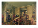 Chelsea Interior, 1857 Giclee Print by Robert Scott Tait
