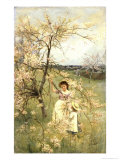 Spring, c.1880 Giclee Print by Henry George Todd
