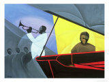 Hot and Cool Jazz, 2004 Giclee Print by Kaaria Mucherera