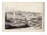 The Crystal Palace Giclee Print by Benjamin Waterhouse Hawkins