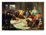 Samson Betrayed by Delilah Giclee Print by Felice Gianni