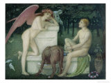 Eros and Ganymede Giclee Print by Alfred Sacheverell Coke