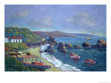Fishermen's Rocks, 2004 Giclee Print by Carlton Murrell