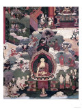 Life of Buddha Sakymuni, the Armies of Mara Attacking the Blessed Giclee Print