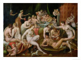 The Feast of the Gods Giclee Print by Bernard Ryckere