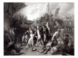 The Death of Nelson Giclee Print by Ernest Slingeneyer