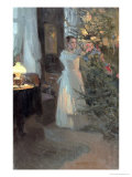 The Christmas Tree, 1910 Giclee Print by Alexei Mikhailovich Korin