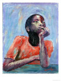 Thinking, 1990 Giclee Print by Carlton Murrell