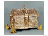 Reliquary Chest of St. Macairius Giclee Print by Hugo De La Vigne