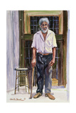 Dignified Elder, 1991 Giclee Print by Carlton Murrell