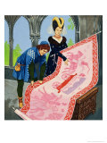 The Princess in the Tower Giclee Print by Gerry And Elizabeth Embleton