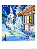 Wizard in the Moonlight Giclee Print by Eduardo Teixeira Coelho