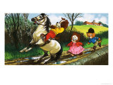 The Jolly Dogs Giclee-vedos tekijänä Francis Phillipps