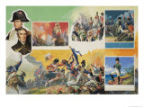 Wellington vs Napoleon Giclee Print by Severino Baraldi