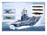 The Ark Royal Giclee Print by John S. Smith
