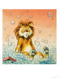 Leo the Friendly Lion Reproduction procédé giclée par Virginio Livraghi